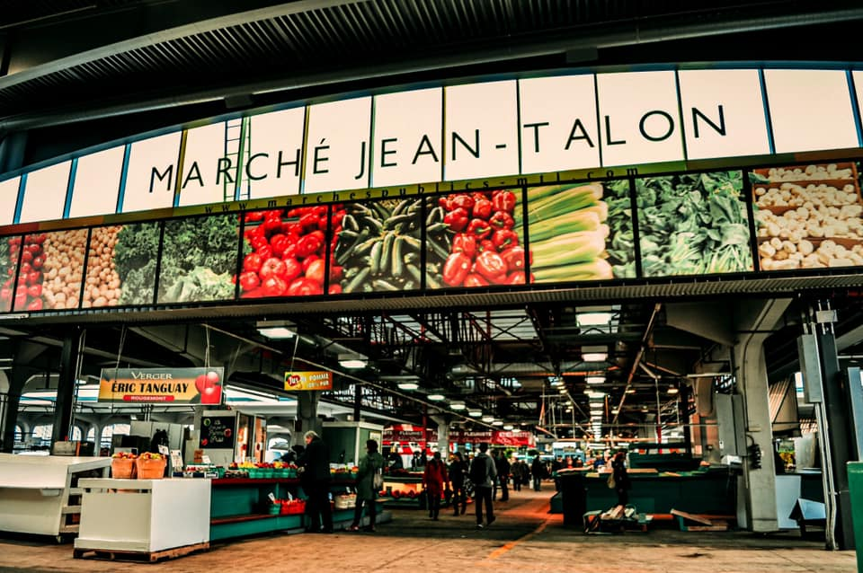 Pedestrianization and embellishment of the Jean-Talon Market!